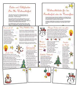 #Tischkarten, #Platzkarten zu #Weihnachten und #Weihnachtslieder