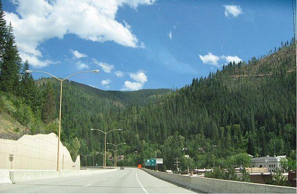 Interstate 90 in Idaho - Wikipedia, the free encyclopedia