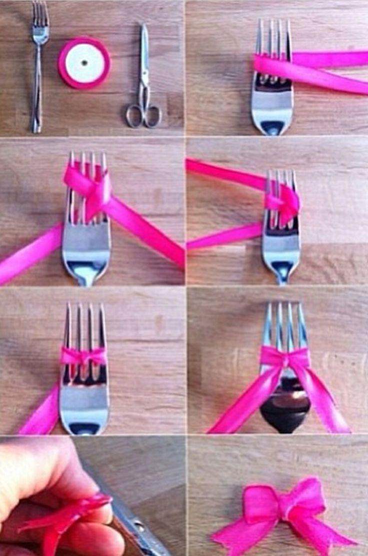 Nœud avec une fourchette