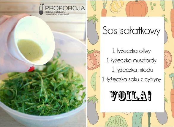 Prosty przepis na pyszny sos sałatkowy