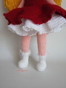 Merhabalar,Yeniyıl için hazırladığım bebeğim duru ile tanıştıracağım sizleri.   Duru hanım uzun zamandır eli...