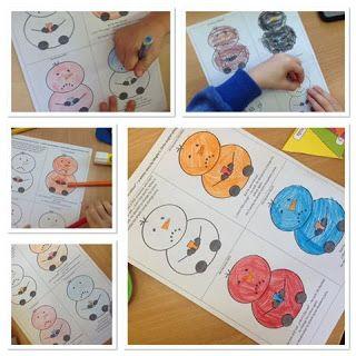 Little English Playground: Kolorowanki po angielsku. Dwie historyjki w wersji do kolorowania   Colouring book: The snowman who didn't like his colour. A winter story