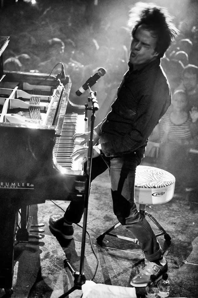 Jamie Cullum in action, Michael Agel