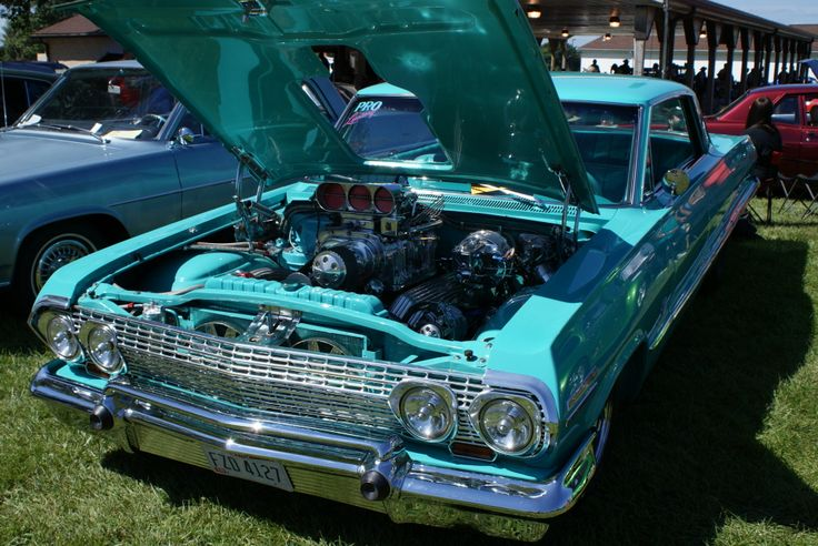 Hillbilly Rod & Custom National Car Show 8/24/2013 Prolux '63 Impala-http://mrimpalasautoparts.com