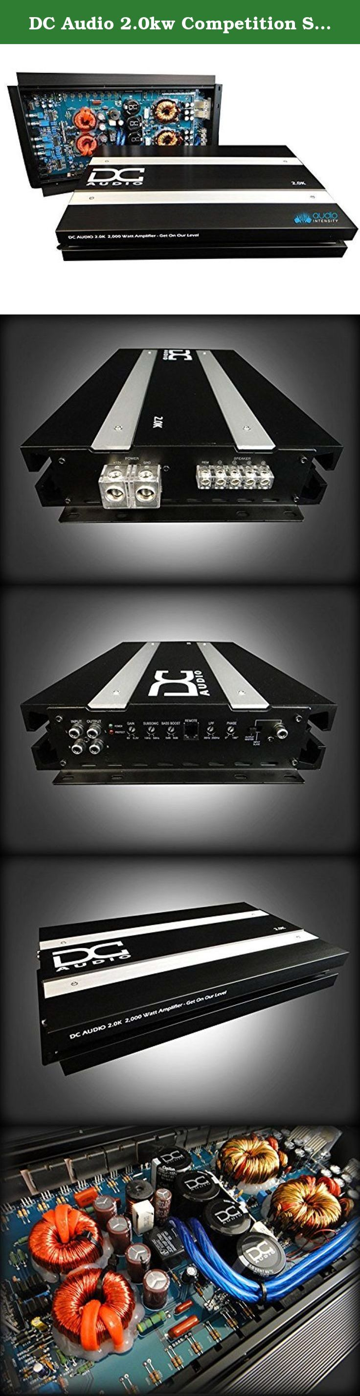 Dc audio 2 0kw competition series amplifier brand new 2 000 watts authorized dealer the 2 0kw competition series amplifier is a 2 000 watt mono
