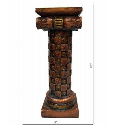 Wooden Rajasthani Pillar (Single) -Small Piece @ Rs 2300/-   http://www.krafthub.com/wooden-rajasthani-pillar-single-small-piece.html