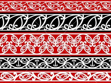 Kowhaiwhai patterns