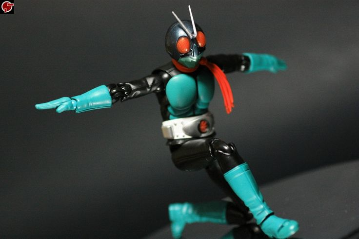 Firestarter's Blog: Toy Review: S.H. Figuarts Kamen Rider 1 (Old)