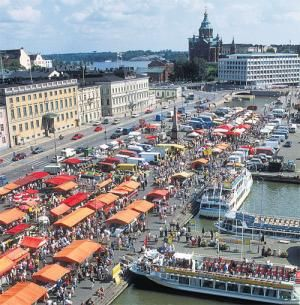 Port / Market Square, Helsinki, Finland. We were there in 2014!