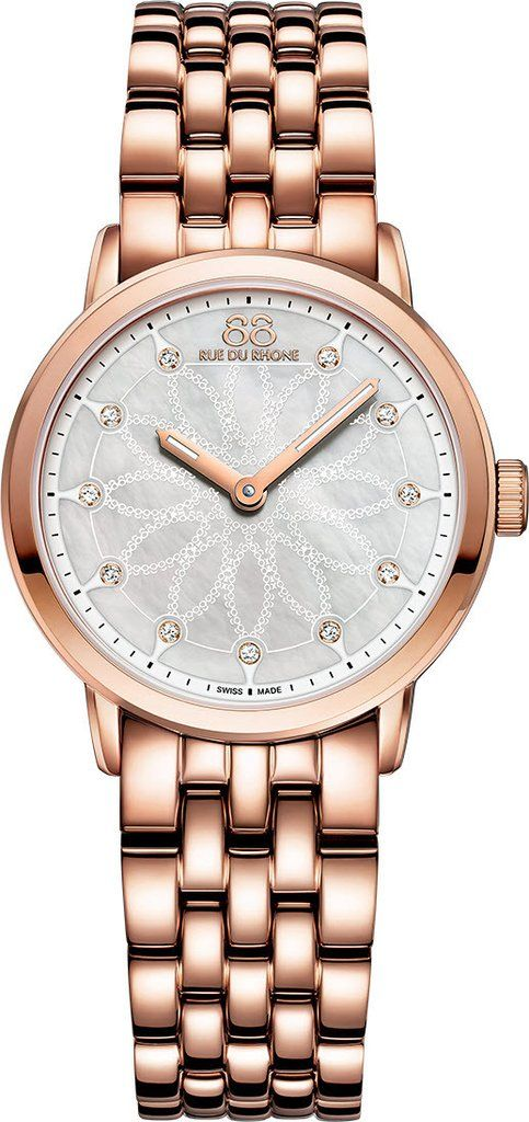 @88rdr Watch Double 8 Origin 29mm Ladies #add-content #bezel-fixed #bracelet-strap-rose-gold-pvd #brand-88-rue-du-rhone #case-material-rose-gold-pvd #case-width-29mm #delivery-timescale-1-2-weeks #dial-colour-white #gender-ladies #limited-code #luxury #movement-quartz-battery #official-stockist-for-88-rue-du-rhone-watches #packaging-88-rue-du-rhone-watch-packaging #style-dress #subcat-double-8-origin-ladies #supplier-model-no-87wa142903 #warranty-88-rue-du-rhone-official-2-year-guar...