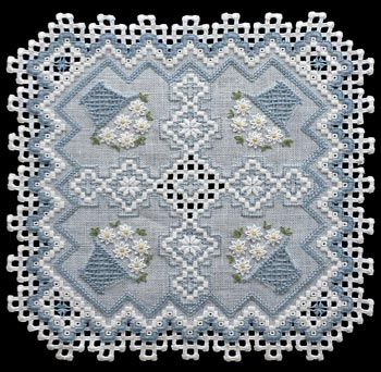 Dynamic Daisies by Rose Marie is a beautiful design to being color into your home.