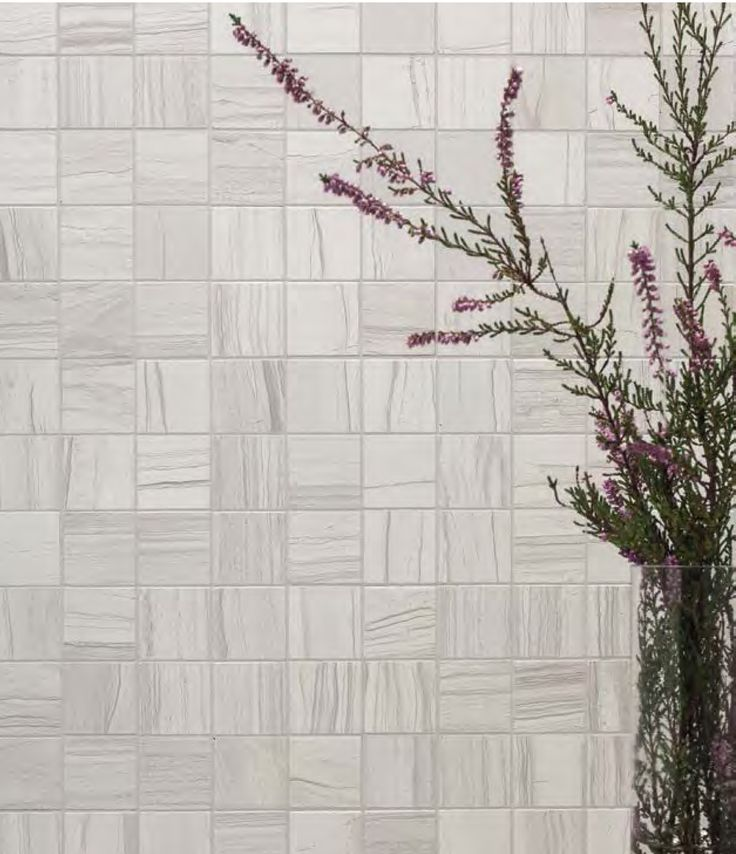 Mosaic tile option used in a statement wall setting.