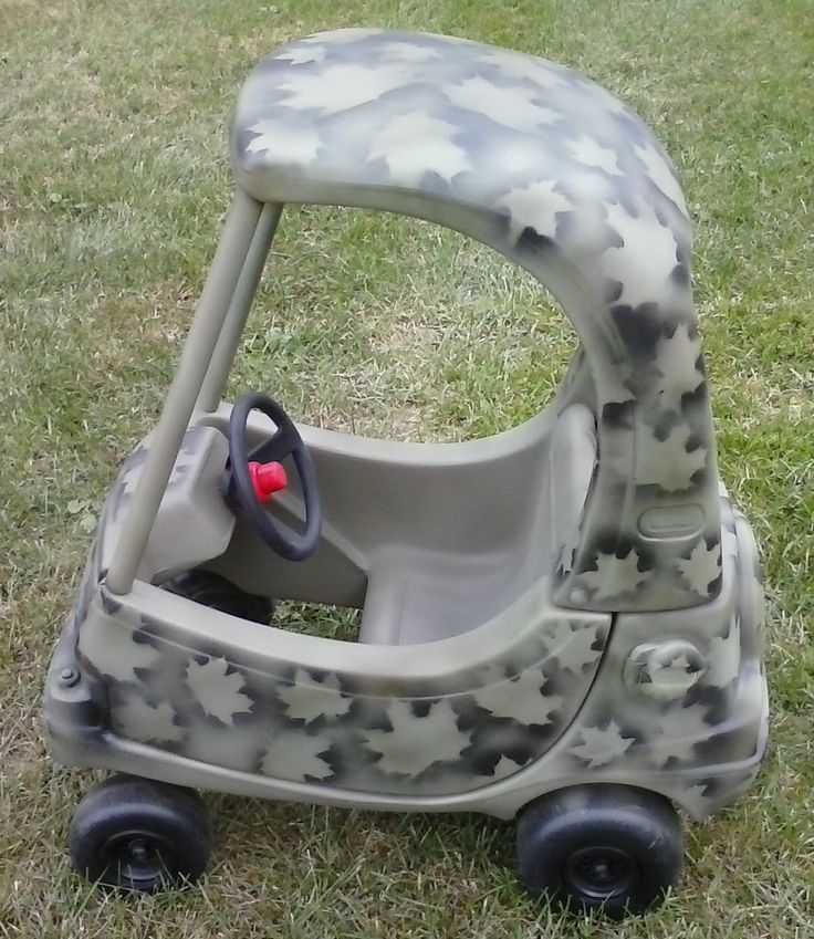 2nd Camo Camouflage Little Tikes Cozy Coupe Makeover