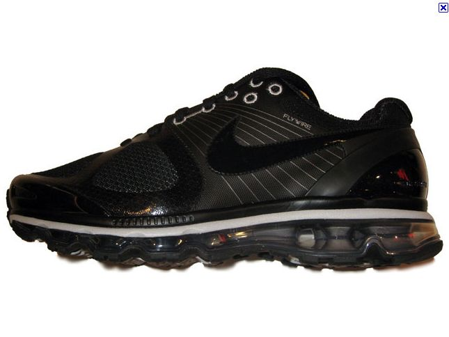 Nike Air Max 2010 Black White Mens Running Trainers Shoes