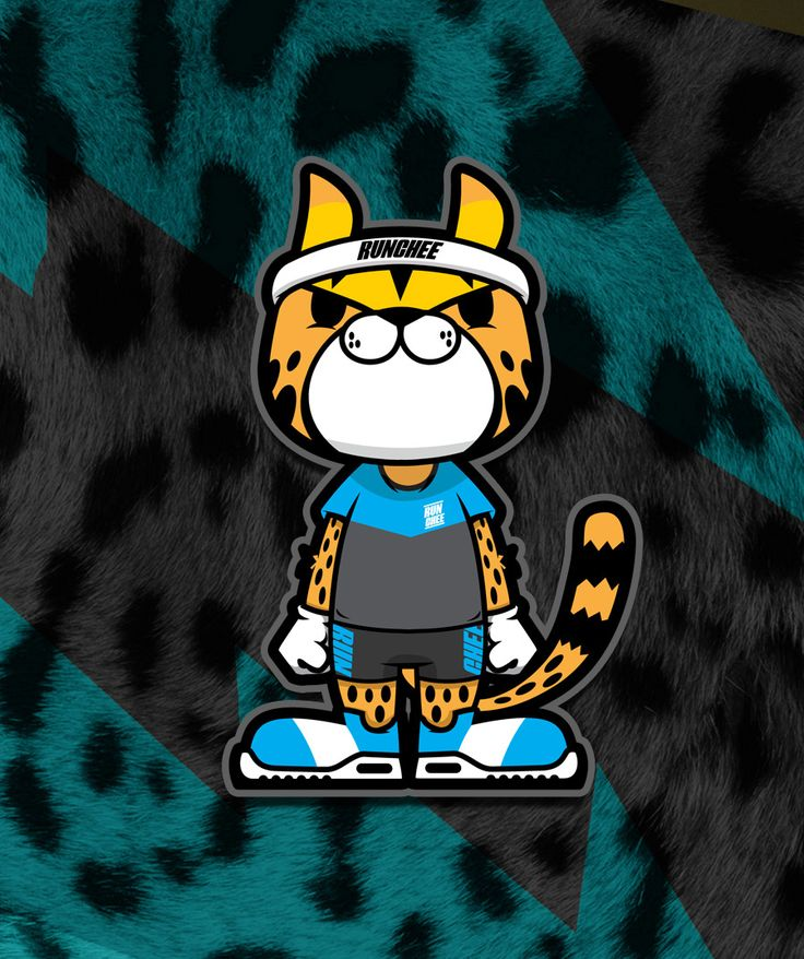 Chester Cheetah Illustrations On Behance: 캐릭터 디자인, 그래픽 디자인 및 로고