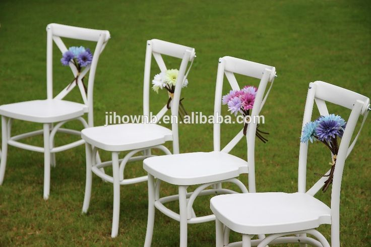 Factory Direct Stackable Restaurant Chairs for Sale used Cross Back Dining Chair Wholesale Price