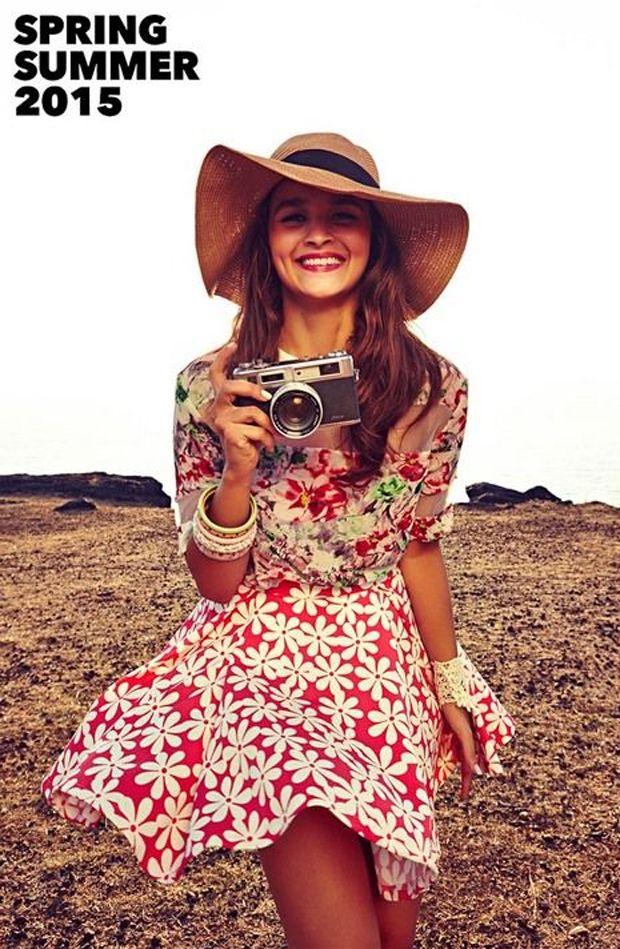 Alia Bhatt's photoshoot for Spring Summer Collection