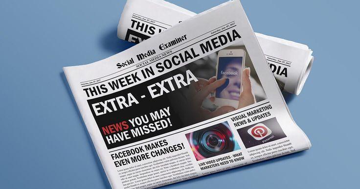 Facebook Automates Video Subtitle Captions: This Week in Social Media : Social Media Exa...