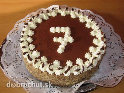 Orechová+torta