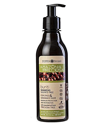 Amazonia Preciosa Buriti Shampoo Surya Nature Inc 1014 oz Liquid >>> Continue to the product at the image link.(This is an Amazon affiliate link and I receive a commission for the sales)