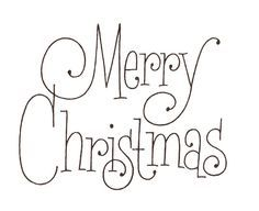 merry christmas in cursive - Google Search