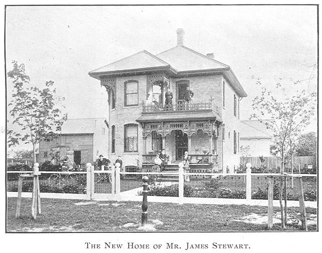 Steward House, Goderich Porch Style #RediscoverGoderich #Goderich #VintageGoderich