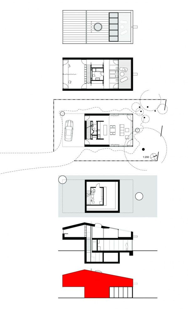 Unique Architecture Design Of Small House Pinterest Intended Inspiration Decorating
