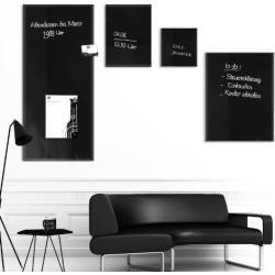 Master of Boards® Glas Magnettafel - 3 Größen wählbar - 45x50cm