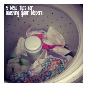 5 new tips for washing diapers