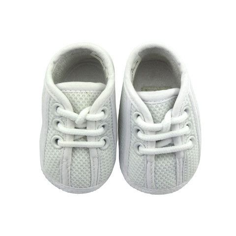 Crystal & Cloth Signature Baby Shoes - Unisex Sneakers