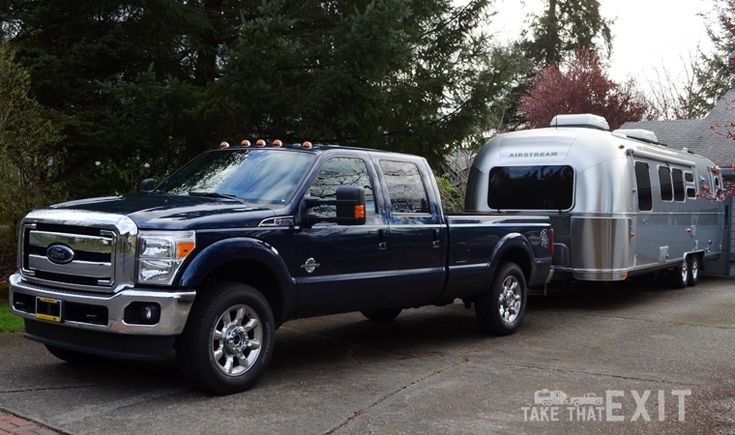 Our tow vehicle – 2015 Ford F-250 Diesel