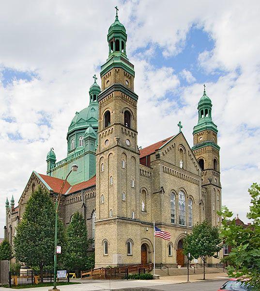 bridgeport chicago | Saint Mary of Perpetual Help in the Bridgeport neighborhood of Chicago