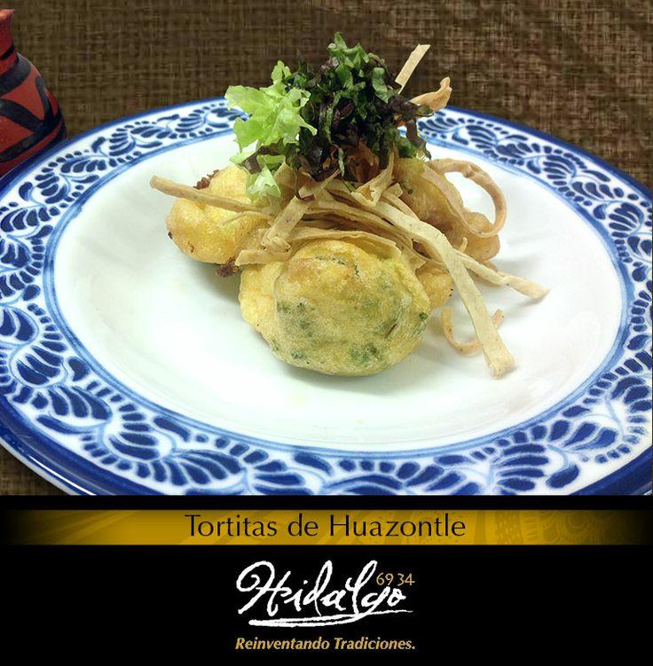 """""""Tortitas de Huazontle: En caldillo de tomate"""""""