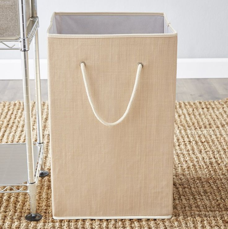 Add practicality to any home with the Resin Hamper. This hamper features a design that boasts of simplistic lines. It contains sufficient space for holding up to two loads of laundry. The slender handles are easy to hold onto and offer a firm grip. This hamper can be folded and stored when it is not being used. Made using high-quality resin, the Resin Hamper is sturdy and lasts for years to come. It sports a beautiful cream finish that can blend well with any color scheme. It is ideal for…