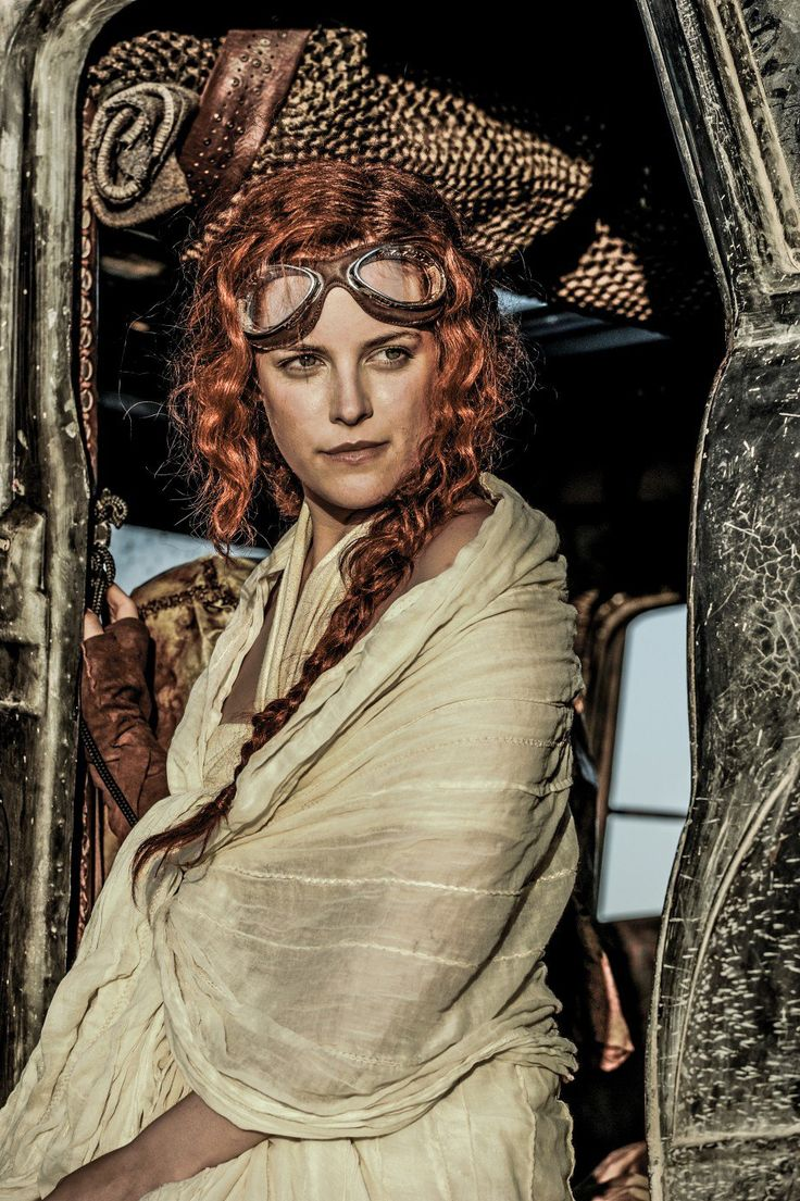 "Riley Keough as Capable in ""Mad Max: Fury Road"" (2015)"