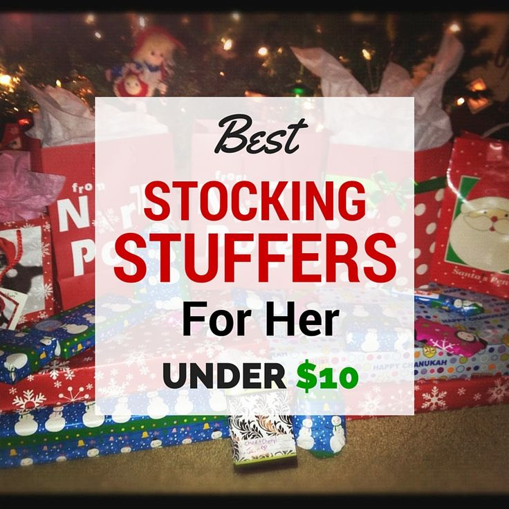 Best stocking stuffers for her under 10 christmas gifts