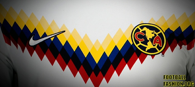 "the beautiful detail of ""V""ictory club america clausura 2013 3rd kit (2) by Football Fashion"