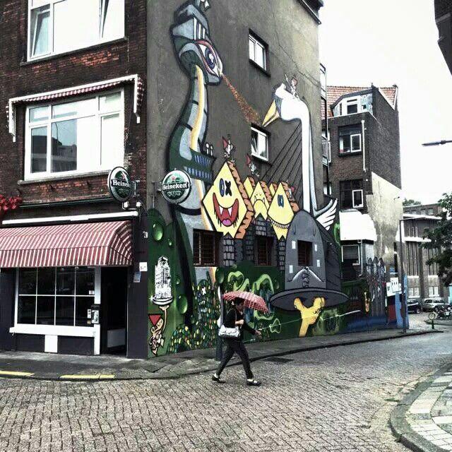 Rotterdam...Streetart...L.Loe