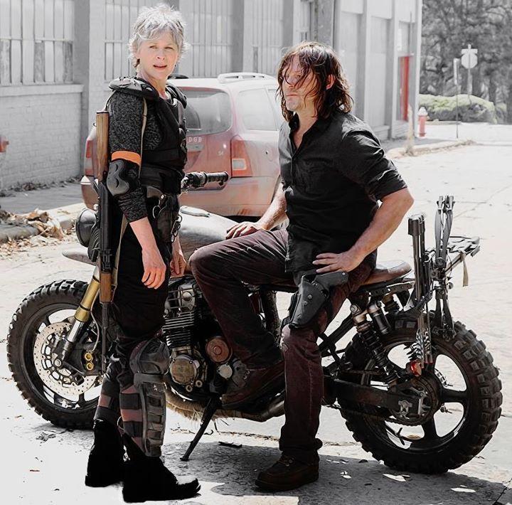 First look of Daryl Dixon and Carol Peletier in The Walking Dead Season 8 #thewalkingdead #twd #thewalkingdeadseason7