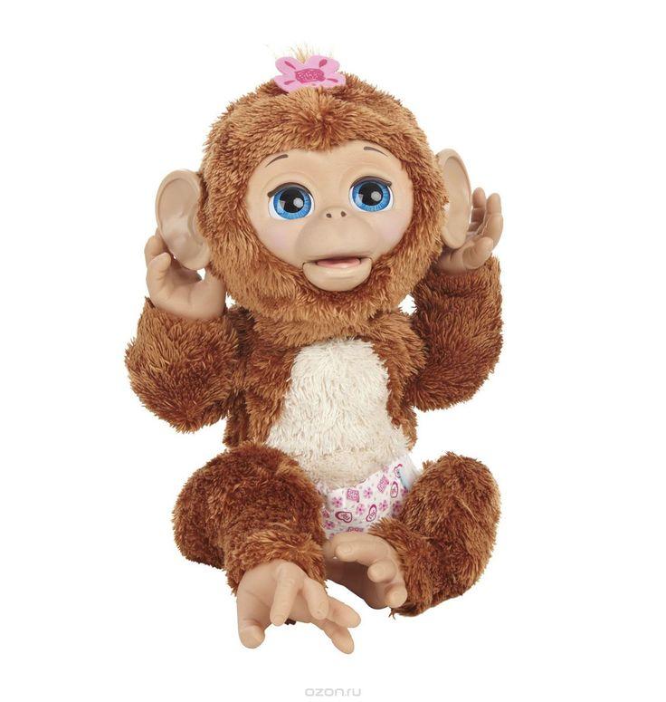 FurReal Friends Интерактивная игрушка Смешливая обезьянка