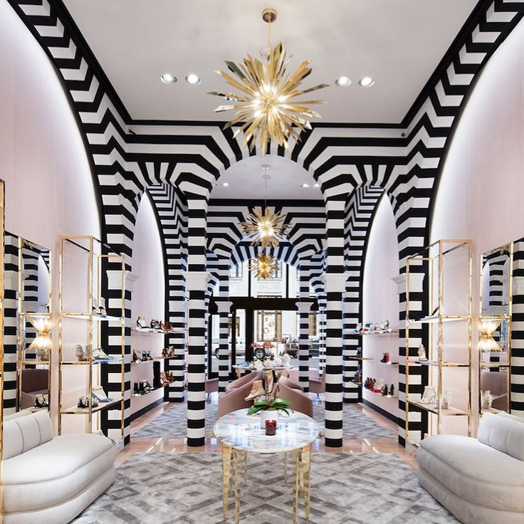 Aquazzura Opens A Well Heeled Boutique In New York Read More At Commercial InteriorsCommercial DesignStore