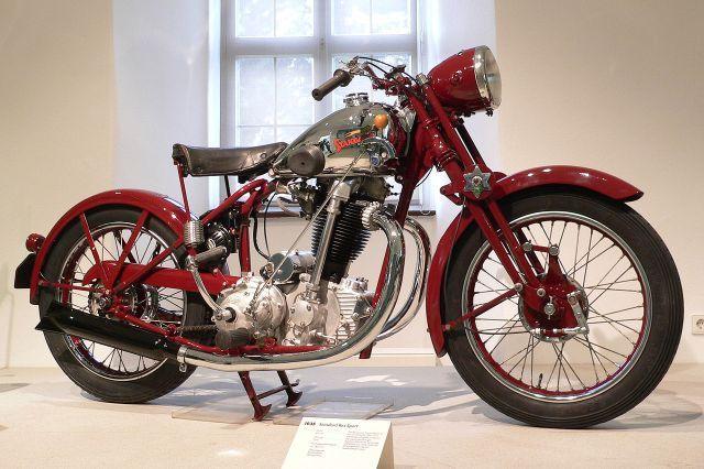 1935 Standard Motorbike Rex Sport 491cc 22hp