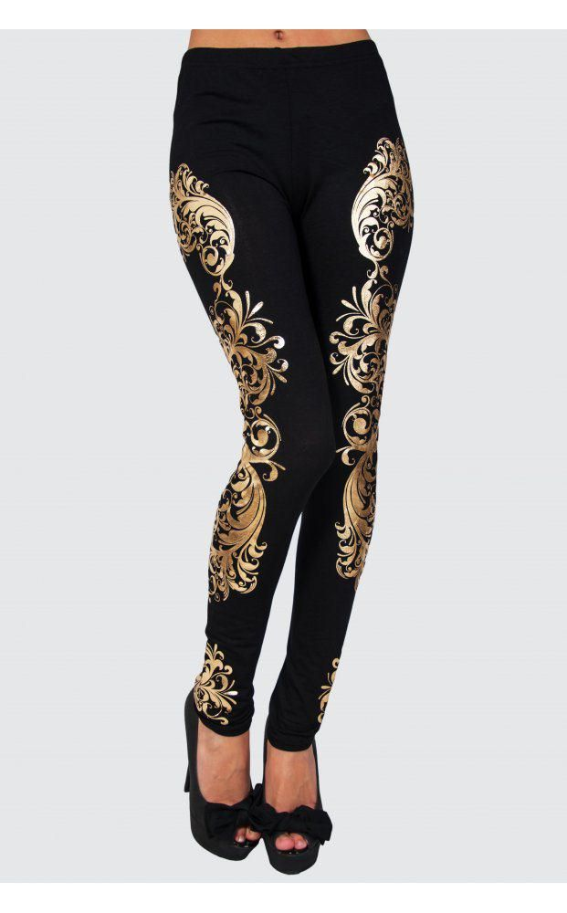 Keep the rest of your ensemble simple and let these leggings do the talking...