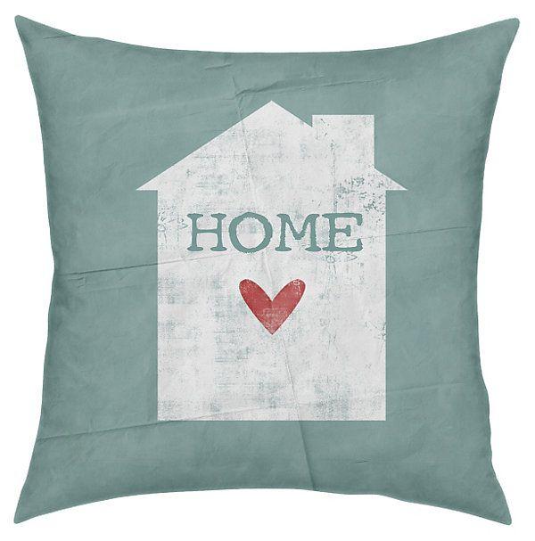 One Kings Lane - Pillow Talk - Home 18x18 Pillow Green