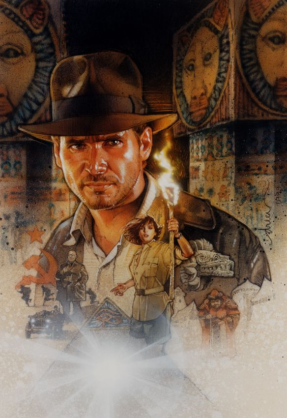 Drew Struzan, Indy video game