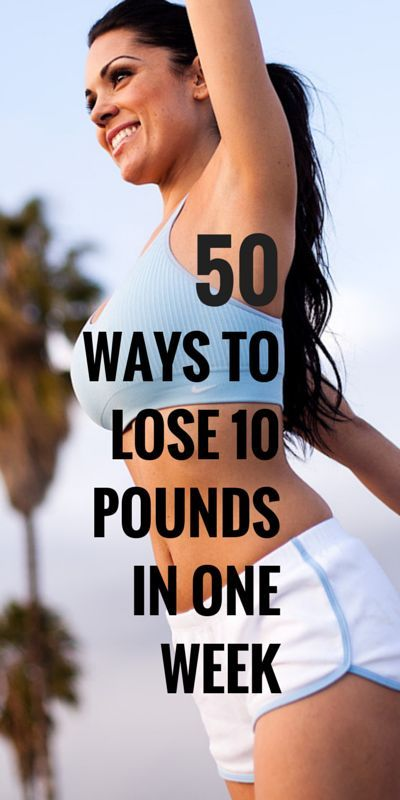 Pick a few  start today  stick to it  see you 10 pounds lighter next week