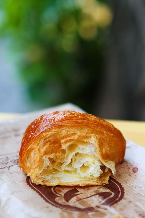 Kaffeehaus SowohlalsAuch's Croissant. Berlin, Germany