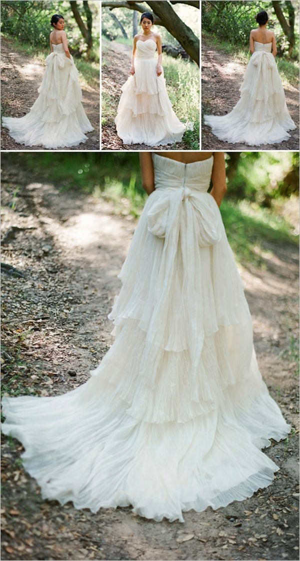 Love this tiered gown