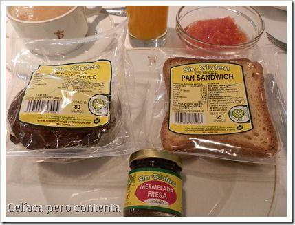 Desayunando #singluten en el Parador