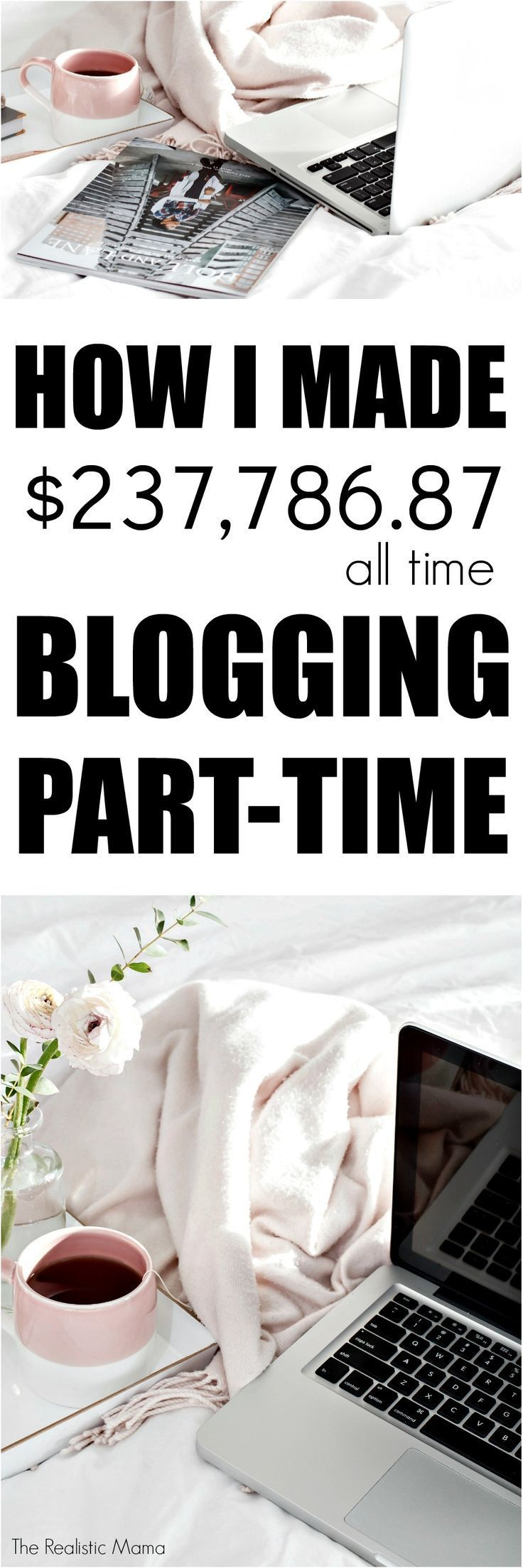 How I made $237,786 All Time Blogging Part-Time